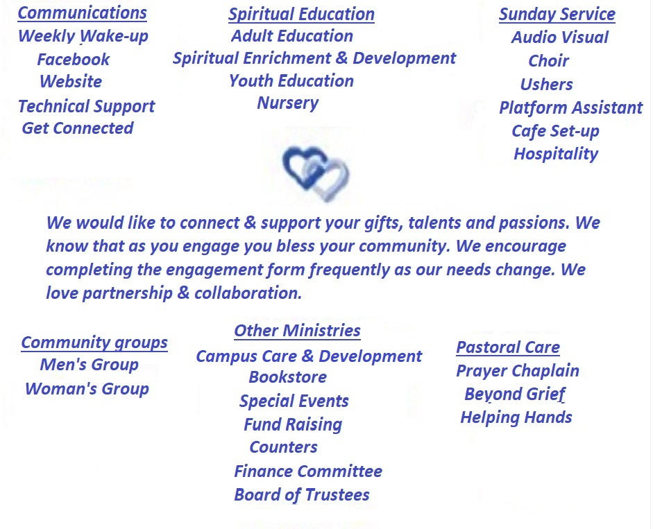 Sacred Service Ministeries | Unity of Citrus County